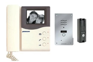 product: PAN320KPH Black & White Video Intercom Series