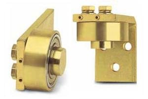Rotating Plate Bearing Hinges for Swinging Gates