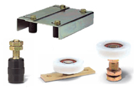 Slide Gate Rollers & Guides