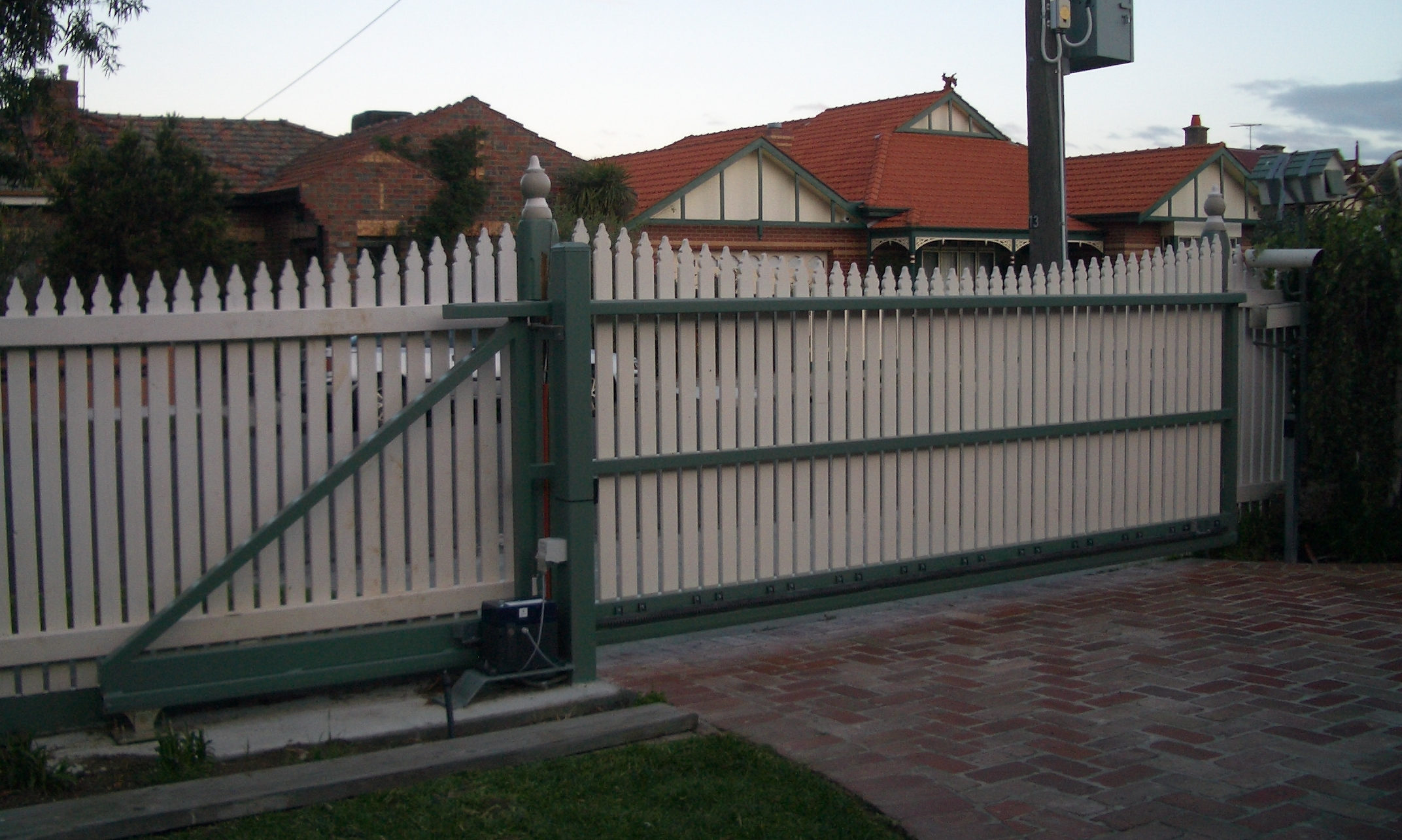 Images of Diy Automatic Sliding Gate